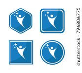 health human set company people ... | Shutterstock .eps vector #796806775