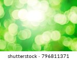 blurred christmas snow lights... | Shutterstock . vector #796811371
