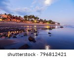 el tunco beach in salvador. el... | Shutterstock . vector #796812421