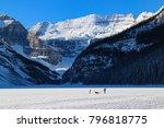 lake louis  alberta   canada in ...   Shutterstock . vector #796818775