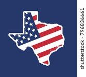 texas map. texas icon. texas...   Shutterstock .eps vector #796836661
