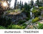 Vidae Falls In Crater Lake...