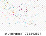Colorful Explosion Of Confetti...