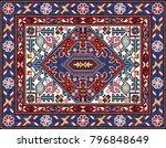 Colorful Mosaic Oriental Rug...