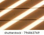 the sun is casting over the... | Shutterstock . vector #796863769