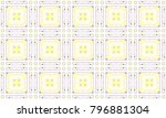colorful seamless pattern for... | Shutterstock . vector #796881304
