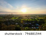 landscape view of the... | Shutterstock . vector #796881544