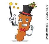 magician tamarind mascot... | Shutterstock .eps vector #796894879