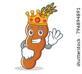 king tamarind mascot cartoon... | Shutterstock .eps vector #796894891