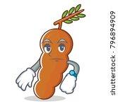 waiting tamarind mascot cartoon ... | Shutterstock .eps vector #796894909