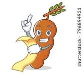 with menu tamarind mascot... | Shutterstock .eps vector #796894921