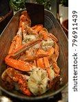 crab  seafood buffet  buffet... | Shutterstock . vector #796911439