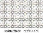 colorful striped horizontal... | Shutterstock . vector #796911571