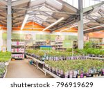 abstract blurred hardware store ... | Shutterstock . vector #796919629