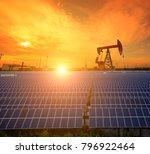 clean power energy concept oil... | Shutterstock . vector #796922464