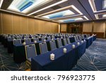 business meeting room or board... | Shutterstock . vector #796923775