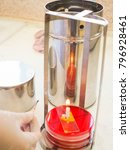 light the candle of anaerobic... | Shutterstock . vector #796928461
