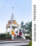 buddha statue  navabaanprot  on ... | Shutterstock . vector #796930339