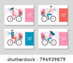 happy valentine's day. vector... | Shutterstock .eps vector #796939879