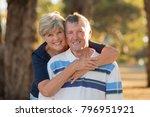 portrait of american senior... | Shutterstock . vector #796951921