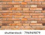 brick block texture background | Shutterstock . vector #796969879
