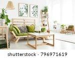 natural  open space apartment... | Shutterstock . vector #796971619