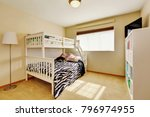 sunny beige kids' room with a... | Shutterstock . vector #796974955