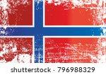 flag of norway  kingdom of... | Shutterstock . vector #796988329