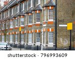 traditional english terraced... | Shutterstock . vector #796993609