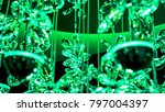 many brilliant crystal abstract ... | Shutterstock . vector #797004397