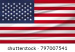 united state america national... | Shutterstock .eps vector #797007541
