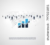 networks   worldwide business... | Shutterstock .eps vector #797021851