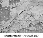 white black grey wall texture... | Shutterstock . vector #797036107