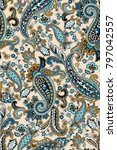 traditional pattern of middle... | Shutterstock . vector #797042557