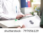 medical and health care prices... | Shutterstock . vector #797056129