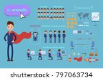 character constructor for... | Shutterstock .eps vector #797063734