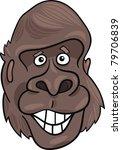 cartoon illustration of funny... | Shutterstock .eps vector #79706839