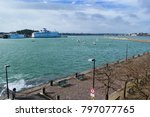 saint malo  france   march 26... | Shutterstock . vector #797077765