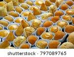 various typical brazilian small ...   Shutterstock . vector #797089765
