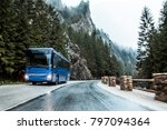 bus on the road  | Shutterstock . vector #797094364