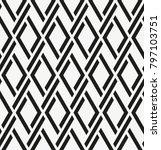 vector seamless pattern. modern ... | Shutterstock .eps vector #797103751
