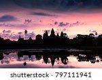 angkor wat at sunrise | Shutterstock . vector #797111941
