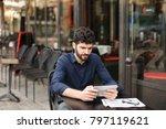 gladden prosperous man...   Shutterstock . vector #797119621