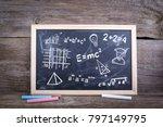 math formulas  education and...   Shutterstock . vector #797149795