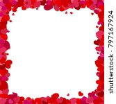 valentine's day vector... | Shutterstock .eps vector #797167924
