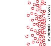 social media icons. network...   Shutterstock .eps vector #797172019