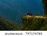 the death road is one of the...   Shutterstock . vector #797174785