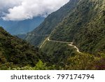 the death road is one of the... | Shutterstock . vector #797174794