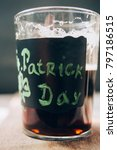 dark beer for st. patrick's day ... | Shutterstock . vector #797186515