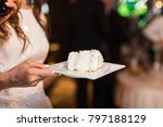 beautiful and tasty wedding... | Shutterstock . vector #797188129